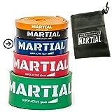 Preis-Leistungs-SIEGER bei vergleich.org: MARTIAL Resistance Bänder für optimales Training! Reißfeste