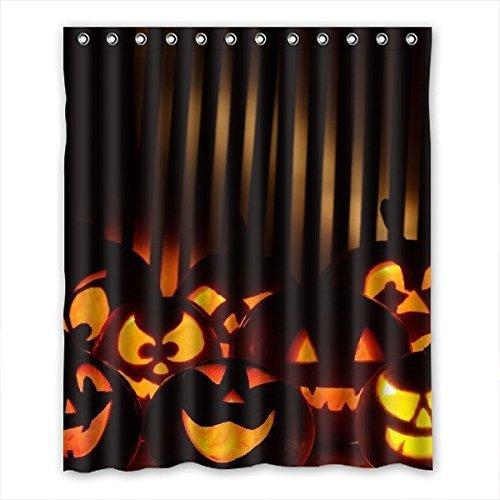 Custom DOUBEE Halloween-Tenda da doccia impermeabile in poliestere-152,40 cm x (60 182,88 (72 cm, po