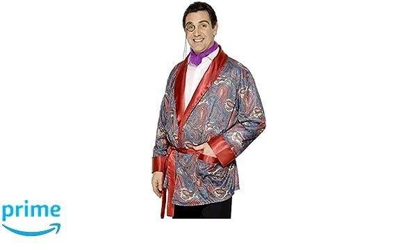 Vestaglia Da Camera Uomo : Smiffys costume con vestaglia da camera uomo smiffys amazon