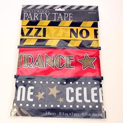 Hollywood-Festone per Party 9,14 Meters, 3 pezzi