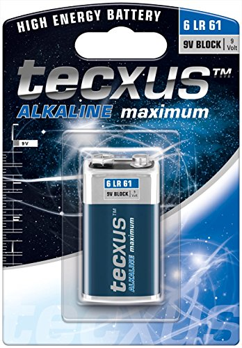 9V Block (6LR61) Batterie Alkaline mit langer Lebensdauer Industrie Alkaline-batterien