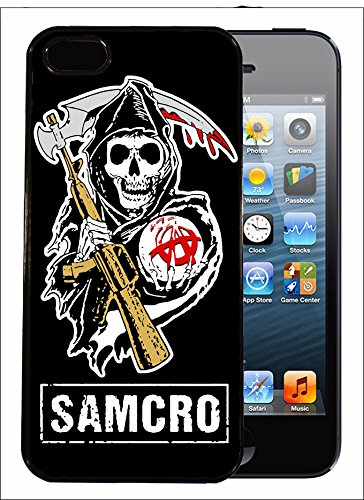 Coque SAMCRO style sons of Anarchy pour iphone 4 5 5C 6 6 + 7 ou Samsung S2 S3 S3 mini S4 S4 mini S5 S6 S6 edge NOTE 2 et 3