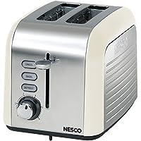 Nesco T1000-14 2-Slice Toaster, White