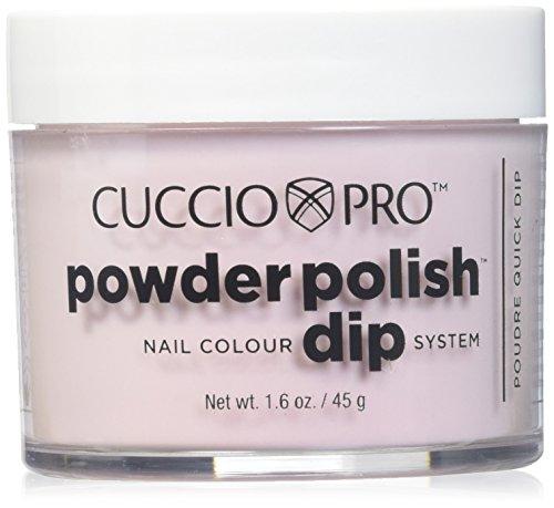 Ovale Dip-set (Cuccio Powder Polish Dip System Dipping Powder - Rose Petal Pink 45g (5556))