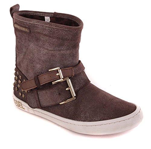 Diesel para mujer Botas botas subbituminoso #80, color marrón, talla 37