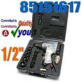 Hilka 85151617, Set de llaves de trinquete de aire, 1/2'