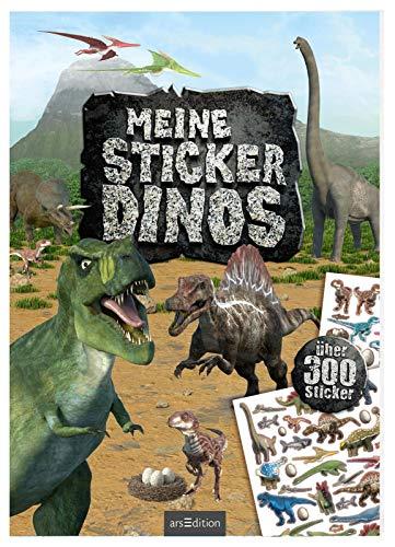 Meine Sticker-Dinos: Mit über 300 Stickern (Mein Stickerbuch) (Dinosaurier-sticker-buch)