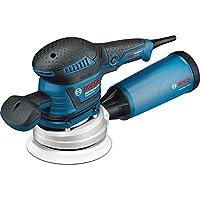 Bosch Professional 060137B101 Ponceuse excentrique GEX 125-150 AVE, 400 W L-BOXX, Bleu