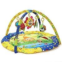Caratteristiche prodotto: * la palestrina per bambini e' un gioco integrante nella crescita infantile * aiuta a sviluppare la percezione del bambino, la cognizione, la capacita' di afferrare, l'udito ecc. 5 giocattoli dondolanti * specchio di...