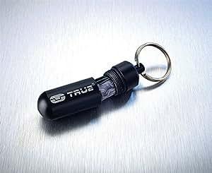 porte clés capsule billet d'urgence rose