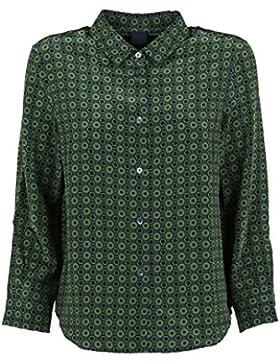 Aspesi Camicia Donna 905412F28572095 Cotone Verde
