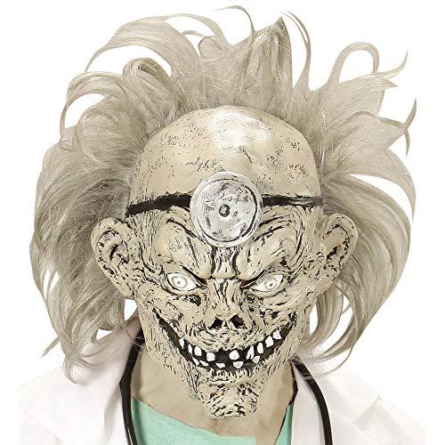 WIDMANN 749553/4Máscara Zombie Doctor peluca