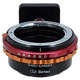 Fotodiox DLX Series adaptador, Nikon G Lens (including: AI, AI de S, AF de D, etc.) to Sony E Mount...
