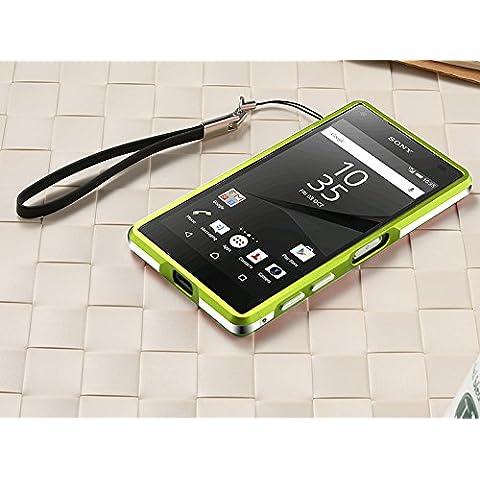 Casefashion® Full Body Armato Resistente Antigraffio Copertura Corner Edge Structure Protettive Skin Bumper Protection Custodia Caso per Sony Xperia Z5 Compact / Z5 Mini - Verde