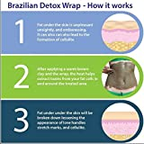 Detox Body Wrap for Weight Loss - Brazilian Silky n' Slim Volcanic Clay Organic Body Wrap Home Spa Treatment. Reduce Cellulite, Psoriases & Stretch Marks (8 Applications) will Heal You from the Inside Out. Bild 3