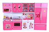 #4: Famous Quality World Dream House Kitchen Set for Kids (Color & Model May Vary)