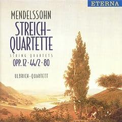 String Quartet No. 4 in E Minor, Op. 44/2: I. Allegro assai appassionato