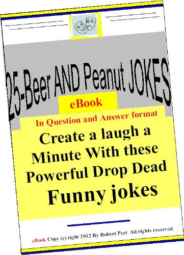 25-Beer and Peanut Jokes eBook (English Edition)