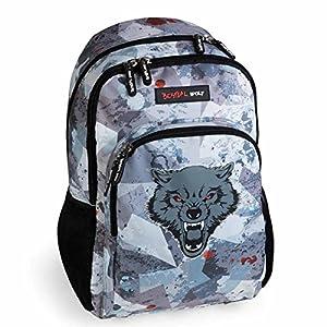 Busquets Mochila Escolar Doble Bestial Wolf by DIS2