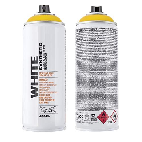 Montana White 1020 saffron, 400 ml Sprühdose glänzend