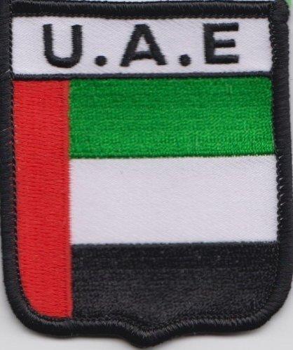 Vereinigte Arabische Emirate VAE Flagge bestickt Patch Badge