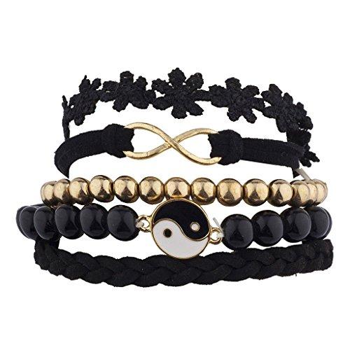 lux-accessoires-noir-ying-yang-infinity-ensemble-bff-best-bras-de-bonbons-fleurs-5