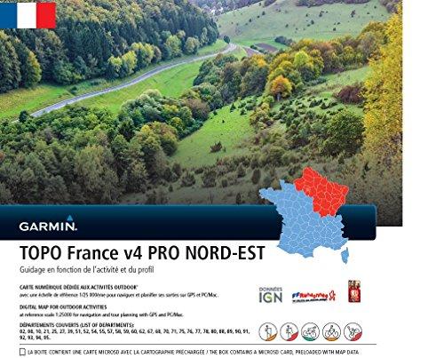 Garmin Topographische Karte Frankreich v4 Pro Nord-OST, 010-11236-02 Ost-microsd