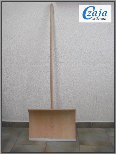 Holz Schneeschieber mit Stahlkante SCH 107