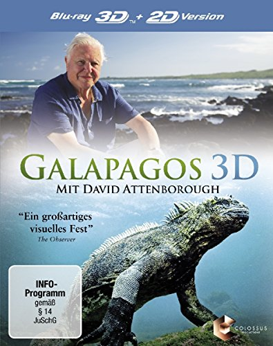 Galapagos 3D - mit David Attenborough [3D Blu-ray]