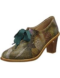 Neosens S534 Fantasy Floral Taupe/Cynthia, Zapatos de Tacón con Punta Cerrada Para Mujer