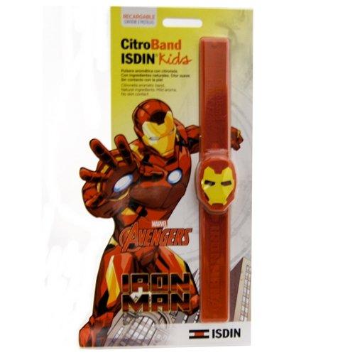ISDIN CitroBand Kids Disney Ironman Pulsera de Citronela - 1 Unidad