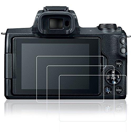 AFUNTA pellicole proteggi schermo per Canon EOS EOS EOS 200D M50 M100 PowerShot G9x II Powershot G7II 3pz antigraffio vetro temperato pellicole