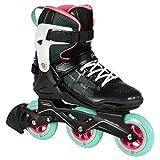 Playlife Epsilon Inline Skates Damen schwarz Größe 42 schwarz-Mint, 42