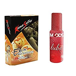 Kamasutra Butterscotch10s + Warm Lube