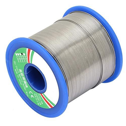 40% Zinn Lötdraht Kolophonium Kernrolle Bügeleisen für elektronische Lötprodukte (0,6/0,8 mm)(0,6 mm) 8 Gauge Power Kit