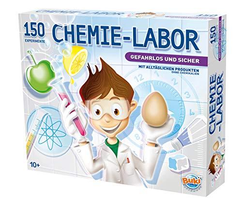 BUKI 8360-C088 - Chemie-Labor, mit 150 Experimente (Deutsche Version)