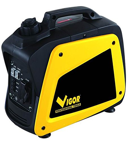Vigor VGI-1500 Generatori Inverter, 1.0 kW/ 1.2 kW usato  Spedito ovunque in Italia