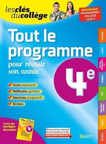 Download Cles Du College Tout En Un 4eme N E Livres Epub