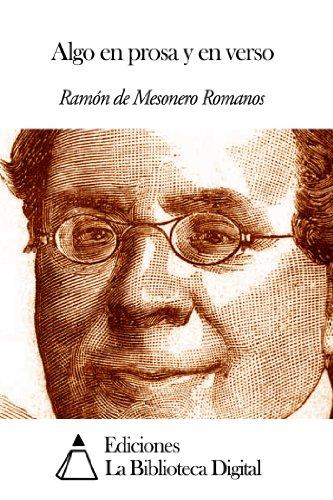 Algo en prosa y en verso por Ramón de Mesonero Romanos