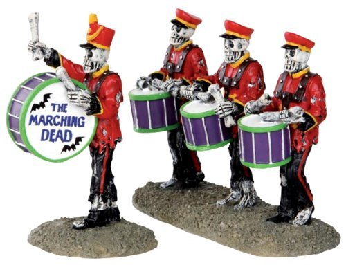 Lemax 32101 Drum Corpse Spooky Town Figure Set of 2 Halloween Decor Figurine by - 2 Halloween-town