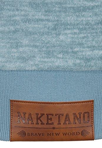 Naketano Female Zipped Jacket Gigi Meroni V Dusty Blue Melange