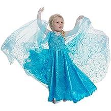 Costumi bambini carnevale frozen for Amazon vestiti bambina