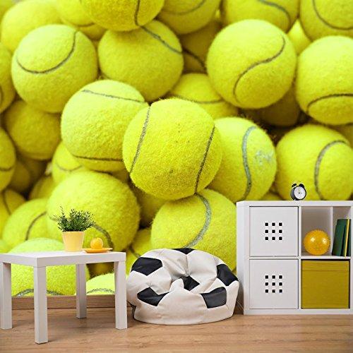 Tennisbälle Hintergrund