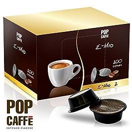 100 CAPSULE POP CAFFE' E-MIO 2 CREMOSO COMPATIBILI LAVAZZA A MODO MIO