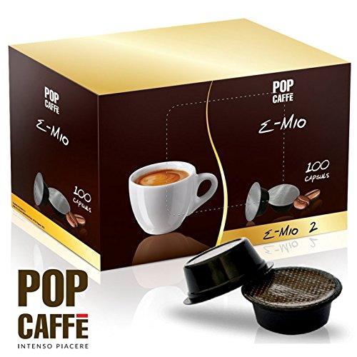 100 capsule pop caffe' e-mio miscela 2 cremoso compatibili a modo mio …