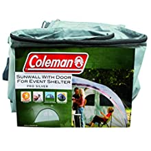 Coleman Sunwall for Event Shelter and Event Shelter Pro, Gazebo Side Panel with Windows and Door, Sun Protection, Water Resistant