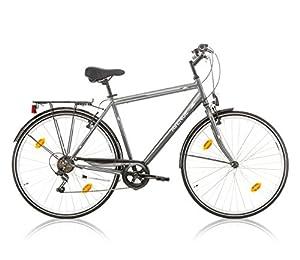 Frank Bikes 28 ZOLL JUGEND CITYBIKE FAHRRAD Herrenfahrrad KINDERFAHRRAD CITYFAHRRAD Aveneu Herren 6 Gang Grau
