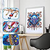 5D DIY Diamond Painting Diamant Malerei Paintings Kristalle Stickerei Strass Malerei Gemälde Crystal Strass Mosaik Bausatz Kreuzstich Cross Stitch Bilder Bohrerfür mit Digitale Sets Wohnkultur
