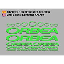 PEGATINAS ORBEA F208 STICKERS AUFKLEBER DECALS ADESIVI BICYCLE BIKE MTB BTT (VERDE/ GREEN)