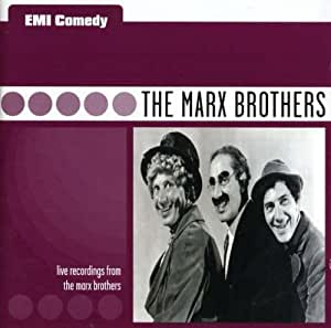 EMI Comedy: The Marx Brothers: Live Recordings From The Marx Brothers
